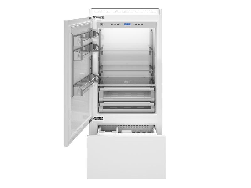 90 cm frigorifero ad incasso, panel ready apertura lato ...