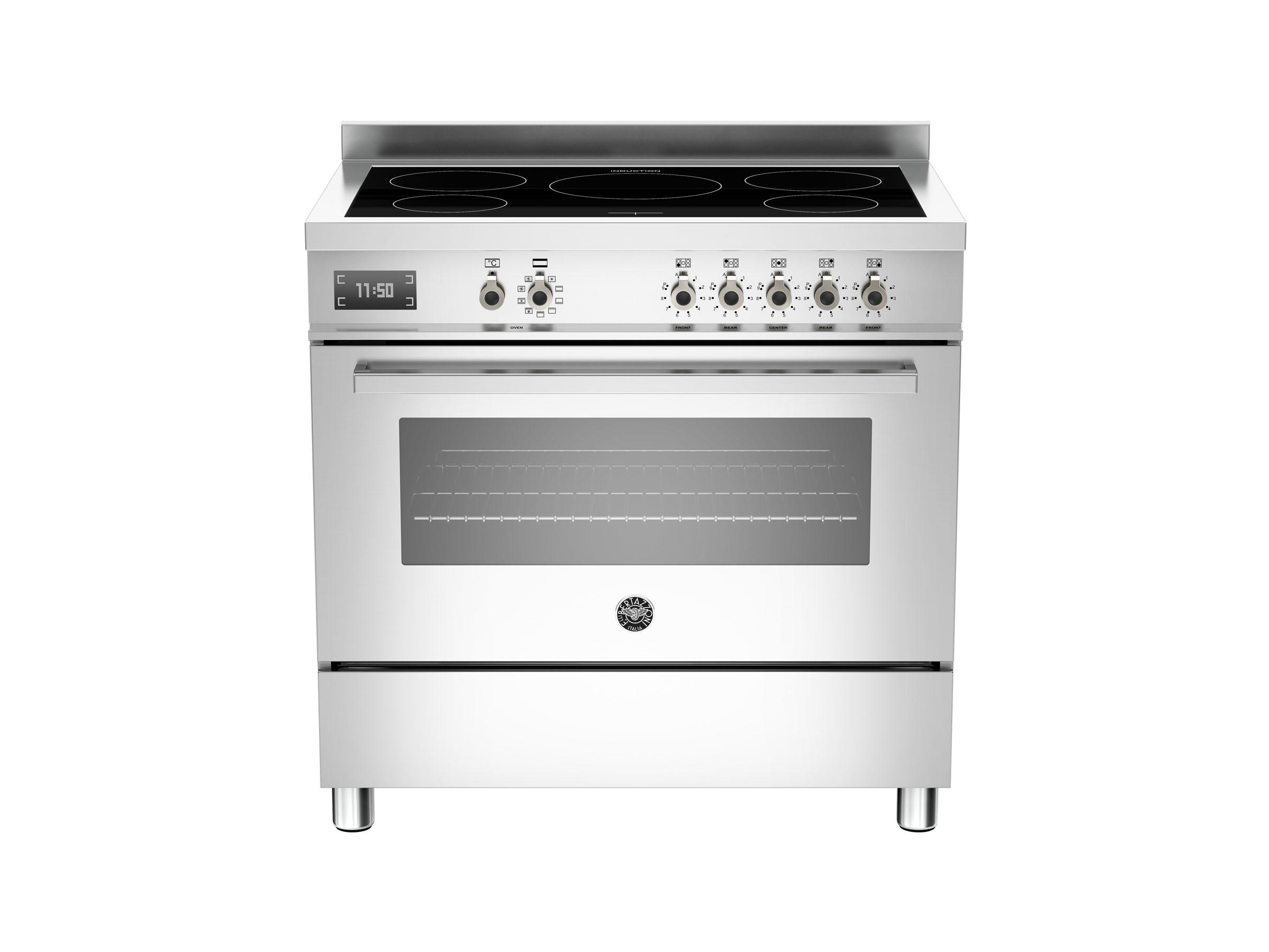 90 cm piano a induzione, forno elettrico | bertazzoni - Induzione Cucina