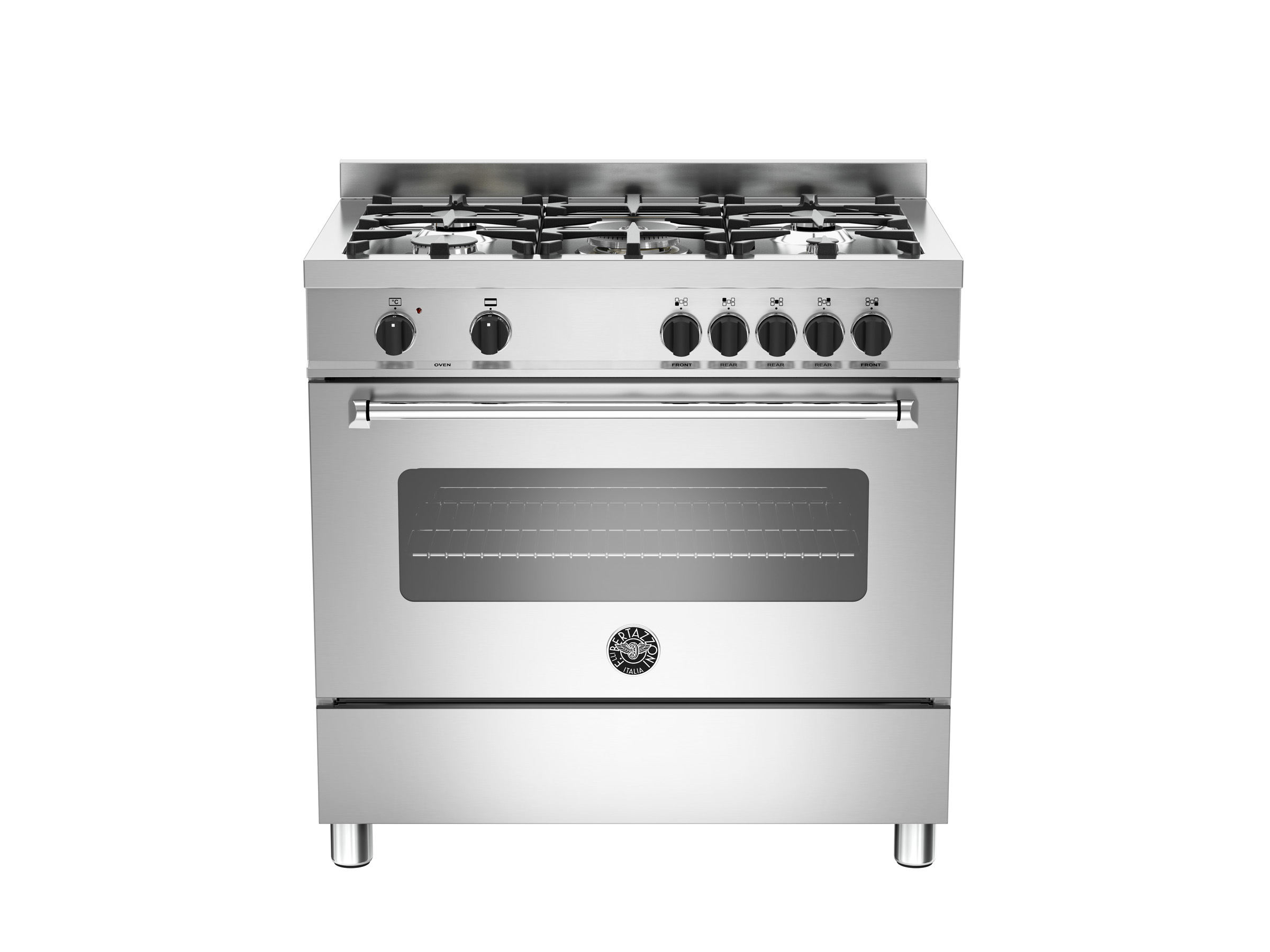 90 cm 5 bruciatori, forno elettrico | Bertazzoni